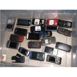 20 Cell Phones For Parts