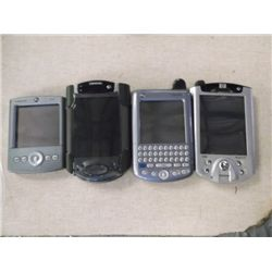 4 Palm PC's 2 Palm's 1 Compaq 1 HP