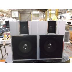 Set of Sears Speakers