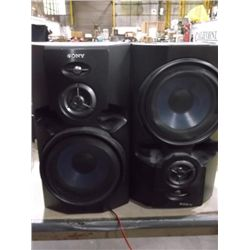 Set of Sony Speakers