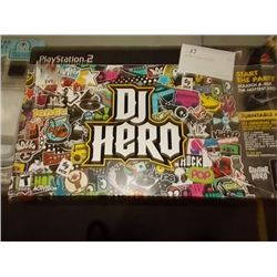 Play Station 2 DJ Hero Turn Table Kit