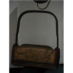 Antique Metal Pepsi Carrier Rust but very nice old Pepsi carrier