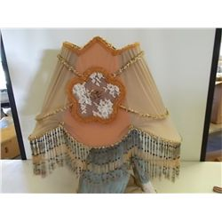 Vintage Beaded Light Shade
