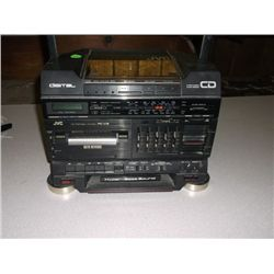 JVC CD & TAPE Player No Speakers or Power cord