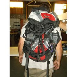 Large red back pack