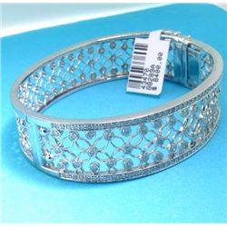 14K BANGLE WITH DIAMOND