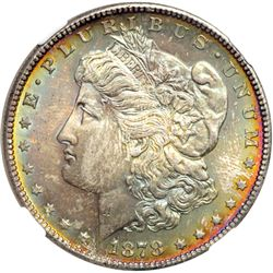 1878-S Morgan $1 NGC MS65