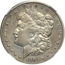 1893-CC Morgan $1 NGC VF30