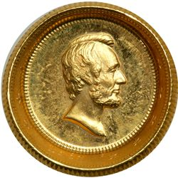 1861 Lincoln Gold Medal