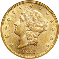 1888 ANACS graded AU55 Double Die Reverse