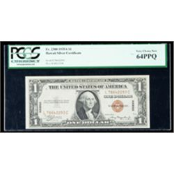 1935-A, $1 World War II Emergency Note. Hawaii. PCGS Very Choice New 64PPQ