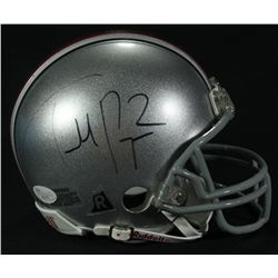 Terrelle Pryor Signed Ohio State Mini-Helmet (JSA COA)