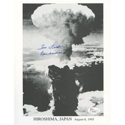"Thomas Ferebee Signed Hiroshima, Japan 8x10 Photo: Inscribed ""Bombardier"" (JSA COA)"