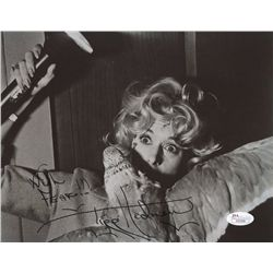 "Tippi Hedren Signed ""The Birds"" 8x10 Photo: Inscribed ""With Fear!!!"" (JSA COA)"