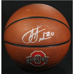 Jared Sullinger Signed Ohio State Logo Basketball (PA COA)