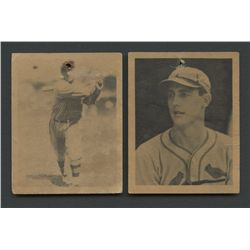 Lot of (2) 1939 Play Ball with #131 Mort Cooper RC & #37 Virgil Davis