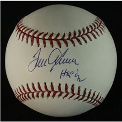 "Tom Seaver Signed OML Baseball: Inscribed ""HOF 92"" (PSA COA)"