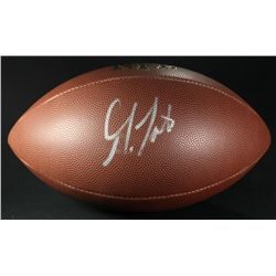 Golden Tate Signed Football (JSA COA)