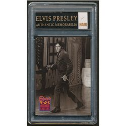 Elvis Presley LE Card with Authentic Piece of Hair (Reznikoff COA)