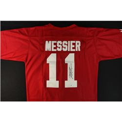 Mark Messier Signed Team Canada Jersey (GA COA)