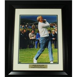 Jack Nicklaus 16x20 Custom Framed Display