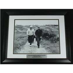 Jack Nicklaus & Arnold Palmer 16x20 Custom Framed Display