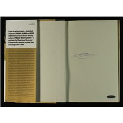 "LeBron James Signed Hardcover Book: ""Shooting Stars"" (UDA COA)"