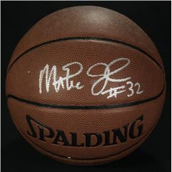 Magic Johnson Signed Basketball (JSA COA)