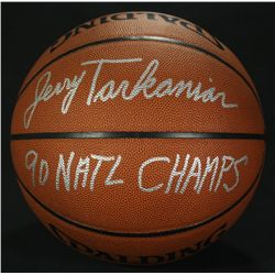 "Jerry Tarkanian Signed Basketball: Inscribed ""90 Natl Champs"" (JSA COA)"