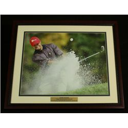 "Tiger Woods 22x26 Custom Framed Display: ""12 Majors by 30"""