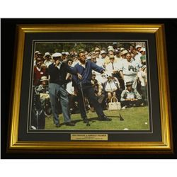 Ben Hogan & Arnold Palmer 24x28 Custom Framed Display