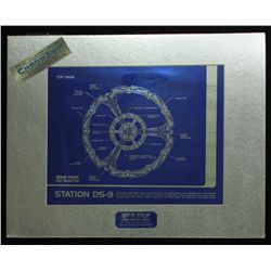 Star Trek Deep Space Nine 1994 Limited Edition Chromium Print (Paramount COA)