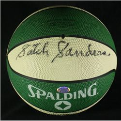 Satch Sanders Signed Celtics Mini-Basketball (SOP COA)