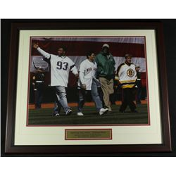 Fenway Park 2005 Opening Day Red Sox 22x26 Custom Framed Display