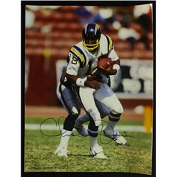 "Charlie Joiner Signed Chargers 11x14 Photo: Inscribed ""HOF 96"" (PA LOA)"