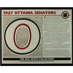 1927 Ottowa Senators 13x10 NHL Collection Commemorative Patch Display