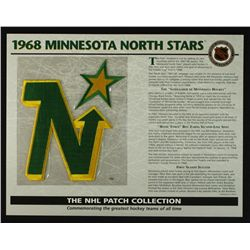 1968 Minnesota North Stars 13x10 NHL Collection Commemorative Patch Display