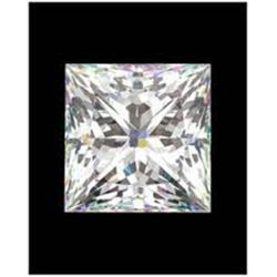 EGL CERTIFIED Princess 0.51 Carat I,SI3