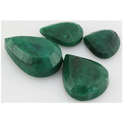 Emerald 529.5ct Loose Gemstone Mix Sizes Pear Cut