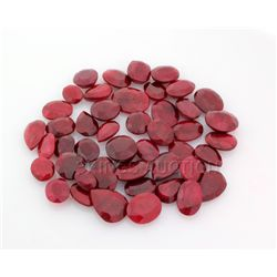 145.00ctw Ruby Mix Shape&Sizes LooseGemstone