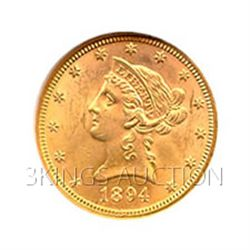 $10 Liberty Almost Uncirculated Early Gold Bullion
