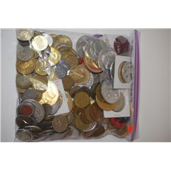 Various Medals, Tokens, Wooden Nickels, Etc.; Three (3) Pounds By Weight; EST. $10-20