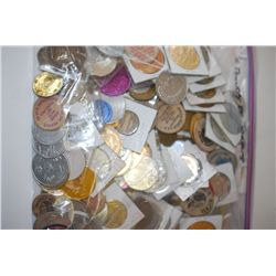 Various Medals, Tokens, Wooden Nickels, Etc.; Five (5) Pounds By Weight; EST. $20-40