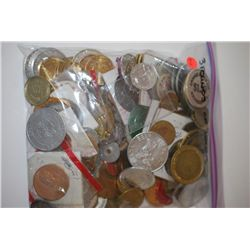 Various Medals, Tokens, Wooden Nickels, Etc.; Three (3) Pounds By Weight; EST. $15-30