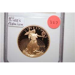 2005-W Gold Eagle $50 Coin; NGC Graded PF70 Ultra Cameo; EST. $1700-2100 ***No Buyer's Premium***