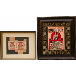 Lot Of 2 Dough-Boy Prophylactic Treatment Advertisement