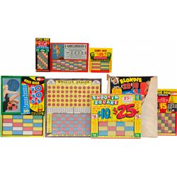 Lot Of Misc. Assorted Punchboards