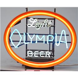 OLYMPIA Light Beer Neon Sign