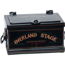 "Early Strong Box, Restored In ""Overland Stage Company"""