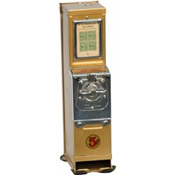 "5 Cent ""Advance Stamp Machine"" Postage Stamp Vending"